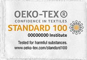 Tissus certifiés Oeko-Tex®
